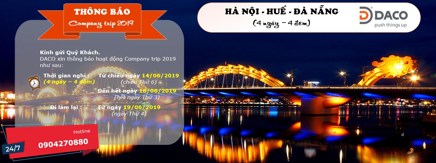 DACO Company Trip Summer 2019: Hoạt động gắn kết Gia đình DACO - Hà Nội - Huế - Đà Nẵng