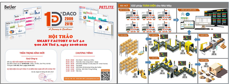 Hội Thảo Smart Factory-Nhà Máy Thông Minh-IoT 4.0-Ứng Dụng Sản Phẩm Beijer & Patlite
