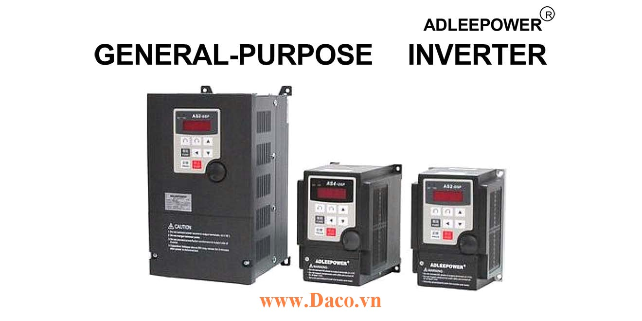 AS4-3N Biến tần ADLeePower 3 Pha 380VAC 0.75KW~3.7KW