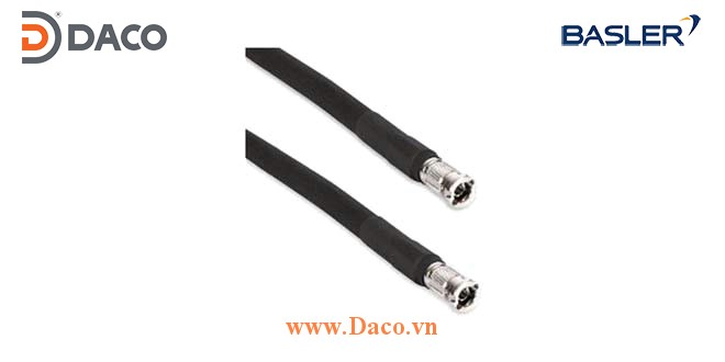 Cáp Cable CXP, Micro-BNC x2 (HD-BNC), 5 m Data Cable CoaXPress (CXP-12), 5.0 m