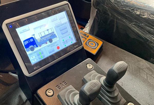 X2 Pro-Ứng dụng màn hình cảm ứng HMI Beijer trong điều khiển cầu trục-Cabin