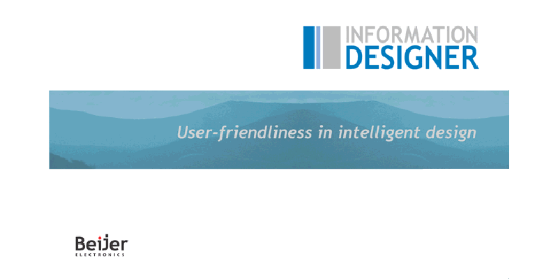 Information Designer Phần mềm lập trình HMI Beijer