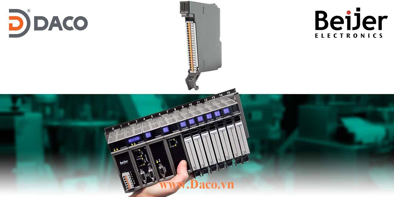 BCS-NJ6020 Module mở rộng vào ra tương tự AI=8 RTD Beijer PLC Nexto Module