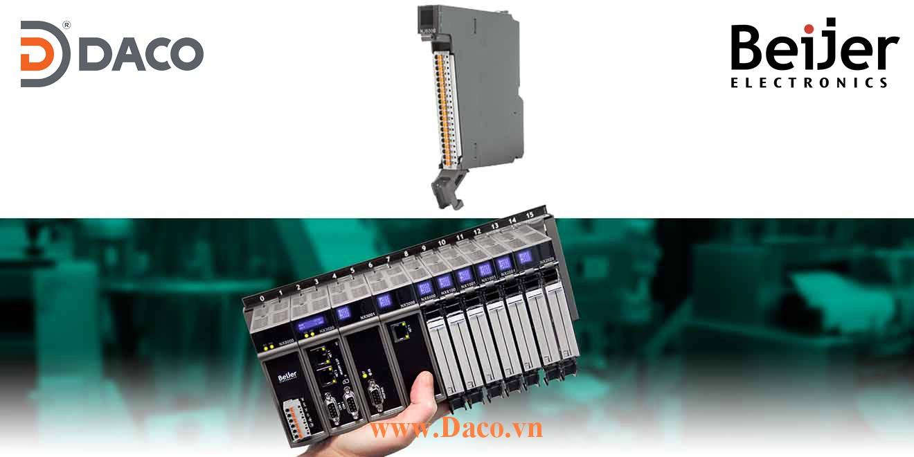 BCS-NX6000 Module mở rộng vào ra tương tự AI=8 AI Beijer PLC Nexto Module