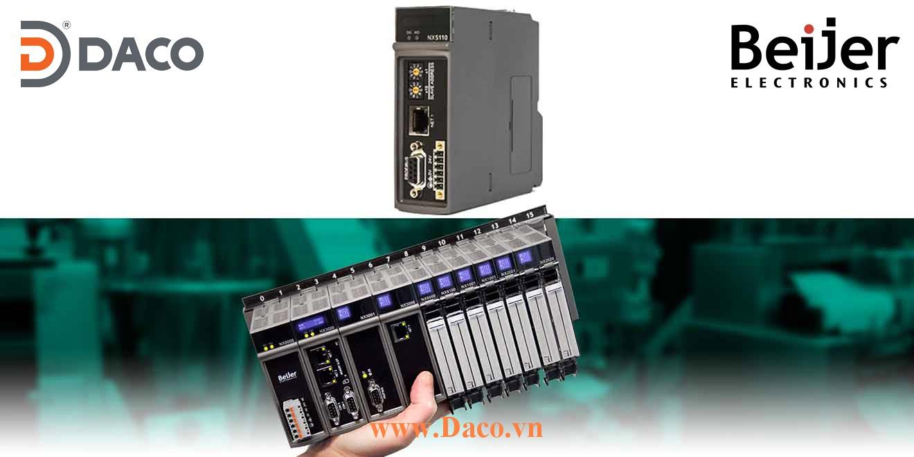 BCS-NX3003 Module điều khiển CPU quản lý mở rộng 10 Module Beijer PLC Nexto Module