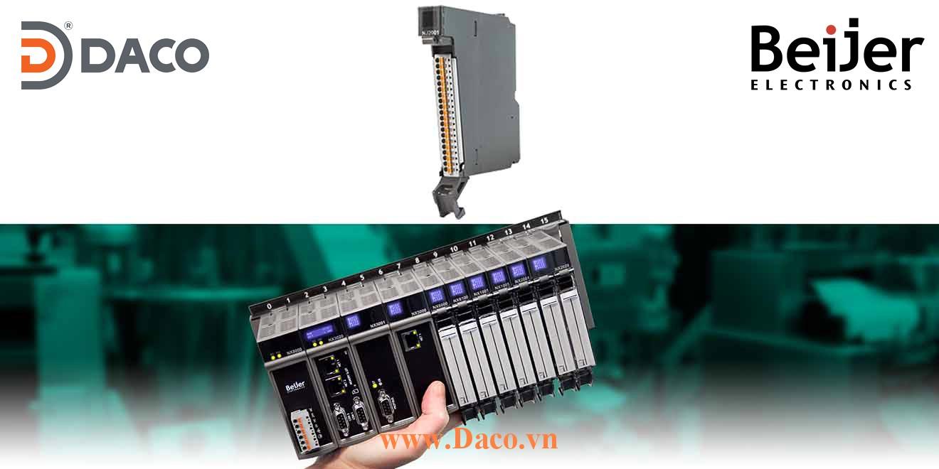 BCS-NJ2001 Module mở rộng vào ra số DO=16 Relay Beijer PLC Nexto Module