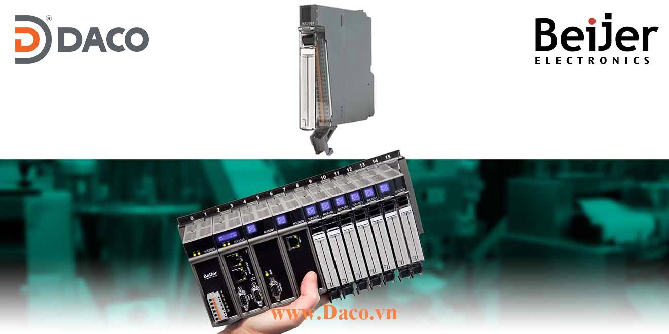 BCS-NX2001 Module mở rộng vào ra số DO=16 Trans Beijer PLC Nexto Module