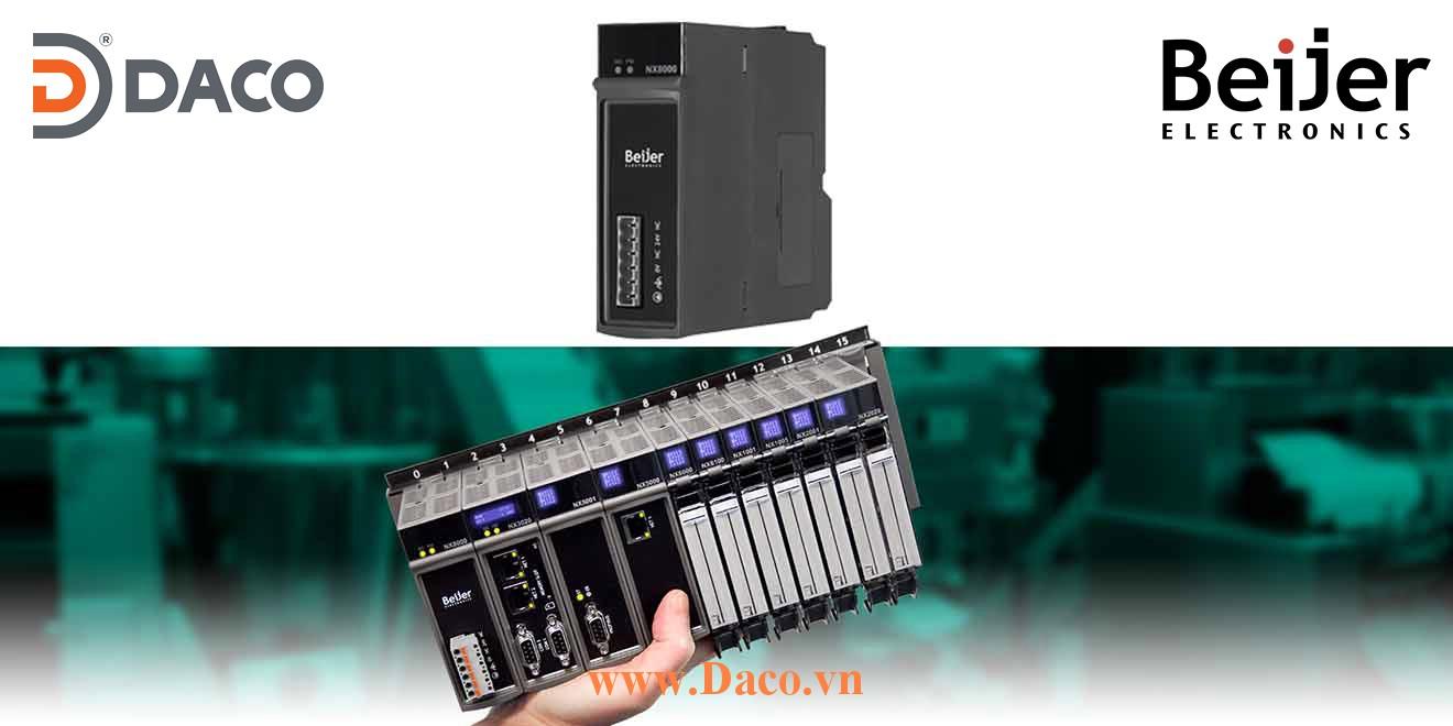 BCS-NX8000 Module nguồn Power Supply 2A-24VDC Beijer PLC Nexto Module
