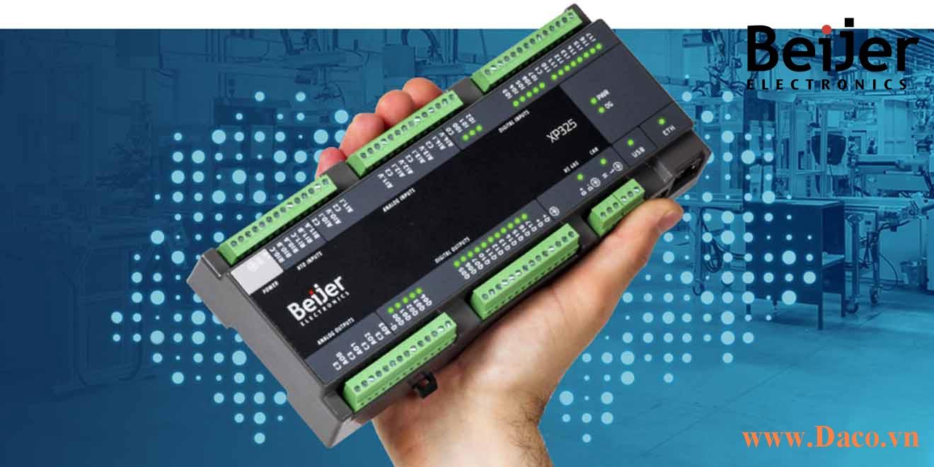 PLC Compact Nexto Xpress Functions Beijer Giới thiệu về các tính năng chính