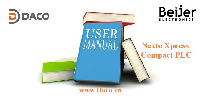 PLC Compact Nexto Xpress Manual Beijer Phần mềm tài liệu Catalogue
