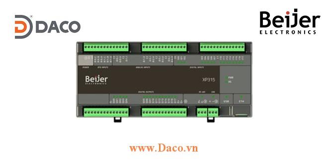 BCS-XP315 Beijer Bộ điều khiển PLC Nexto Xpress 32 DI/O, 5 AI/O, 2 RTD, Ethernet, Serial, USB, CAN, 24VDC
