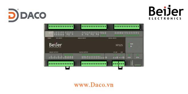 BCS-XP325 Beijer Bộ điều khiển PLC Nexto Xpress 32 DI/O, 9 AI/O, 2 RTD, Ethernet, Serial, USB, CAN, CANopen Master, 24VDC