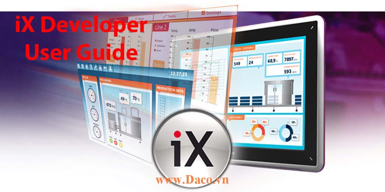 iX Developer User Guide 1 Beijer Video Tính năng & hướng dẫn sử dụng