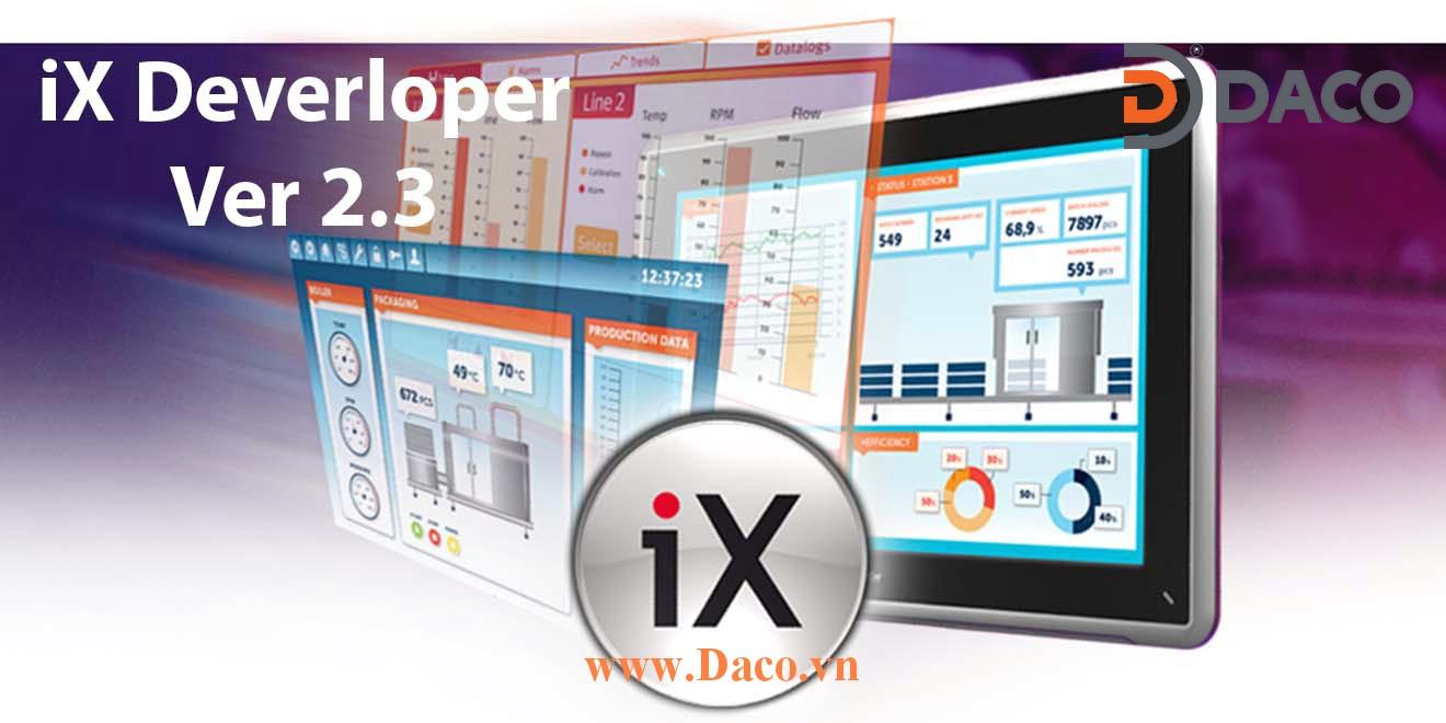 iX Deverloper 2.3 Phần mềm lập trình HMI SCADA Beijer