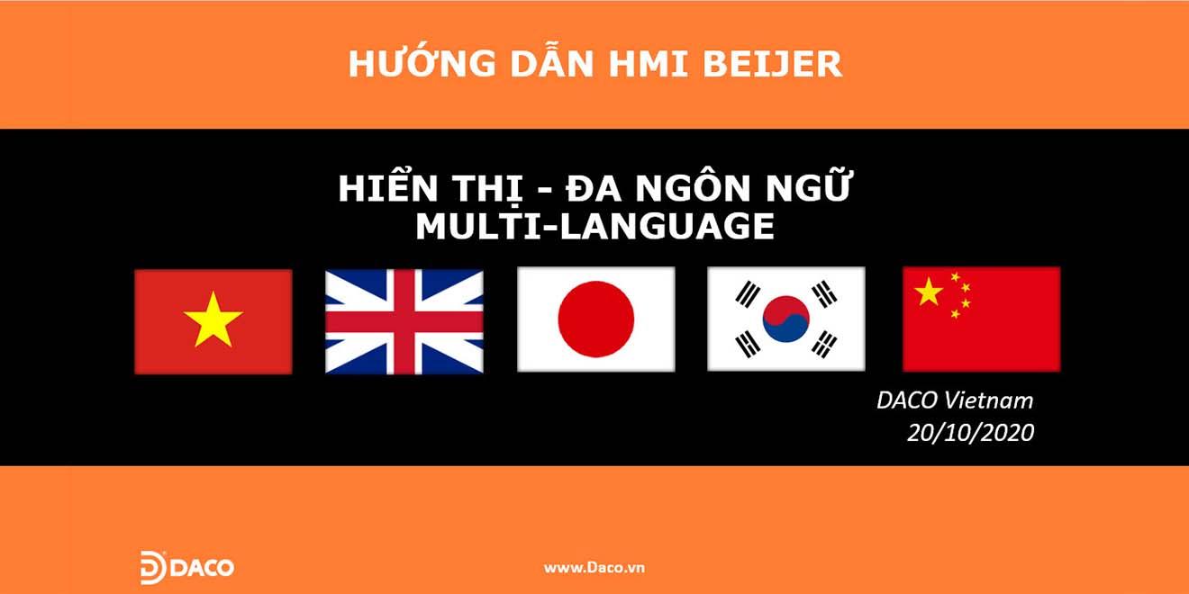 HDSD-Hướng Dẫn Tạo Giao Diện Đa Ngôn Ngữ MultiLanguage - Màn Hình Cảm Ứng HMI Beijer X2-MultiLanguage
