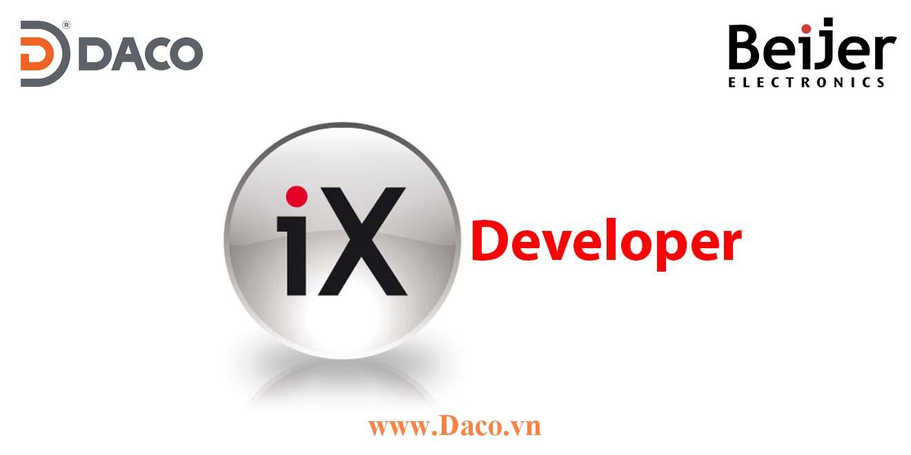 iX Developer Functions Beijer-Tính năng phần mềm lập trình hệ thống điều khiển SCADA cho HMI-PC Beijer