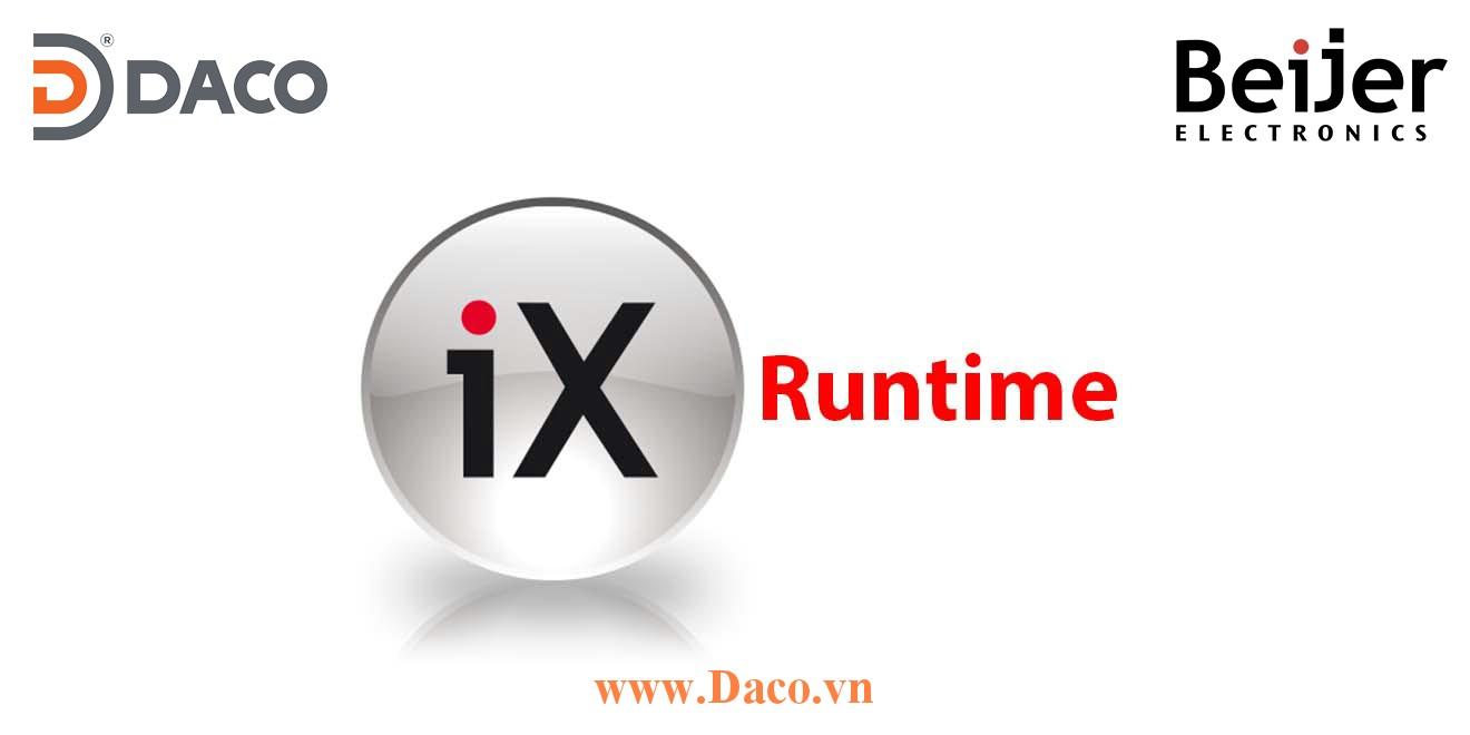 iX Runtime Functions Beijer-Tính năng phần mềm lập trình hệ thống điều khiển SCADA cho PC