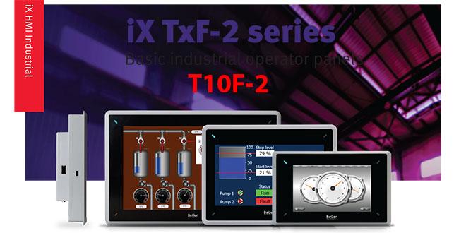 T10F-2 Màn hình cảm ứng SCADA HMI Beijer T10F-2, 10 Inch Màu
