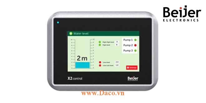 X2 Control 4 Màn hình cảm ứng CODSYS Beijer X2 Control 4 Màu IP65