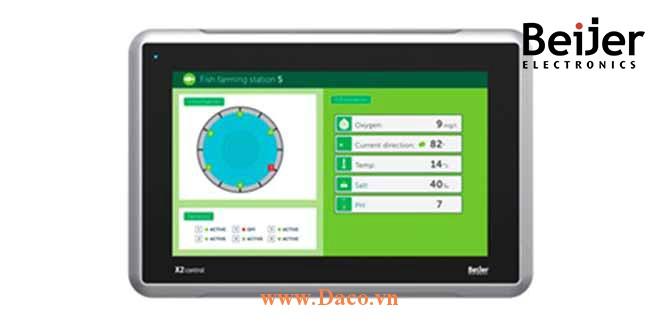 X2 Control 10 Màn hình cảm ứng CODSYS Beijer X2 Control 10 Màu IP65