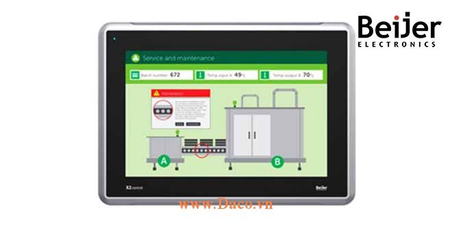 X2 Control 12 Màn hình cảm ứng CODSYS Beijer X2 Control 12 Màu IP65