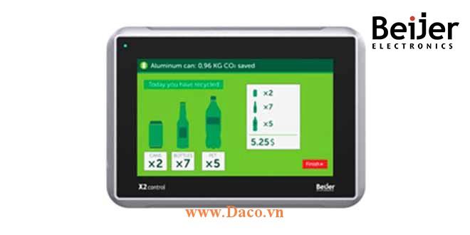 X2 Control 7 Màn hình cảm ứng CODSYS Beijer X2 Control 7 Màu IP65