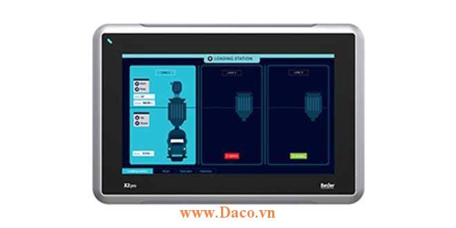 X2 Pro 10 Màn hình cảm ứng SCADA HMI Beijer 10 Inch Màu CE, FCC, KCC, DNV, KR, GL, LR, ABS, CCS