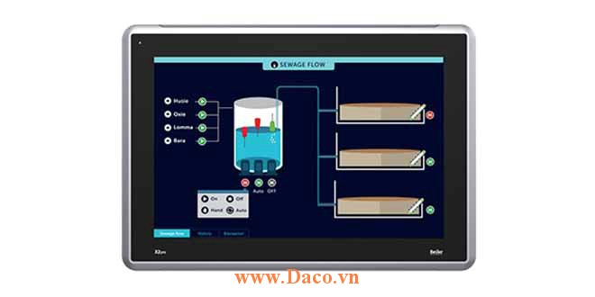 X2 Pro 15 Màn hình cảm ứng SCADA HMI Beijer 15 Inch Màu CE, FCC, KCC, DNV, KR, GL, LR, ABS, CCS
