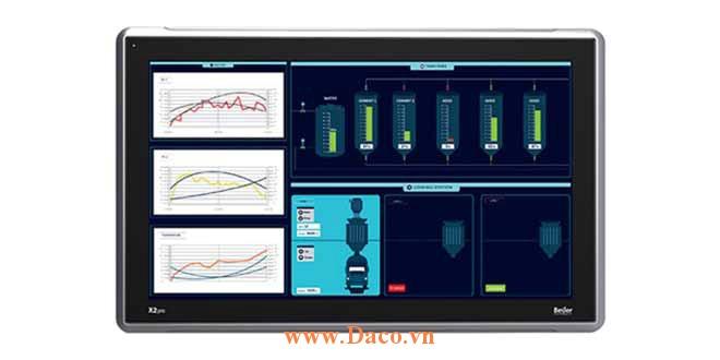 X2 Pro 21 Màn hình cảm ứng SCADA HMI Beijer 21 Inch Màu CE, FCC