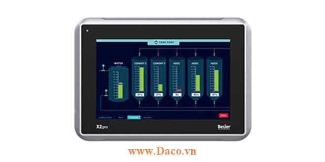 X2 Pro 7-2 ETN Màn hình cảm ứng SCADA HMI Beijer 7-2 ETN Inch Màu CE, FCC, KCC, DNV, KR, GL, LR, ABS, CCS