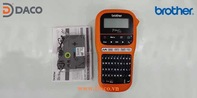 PT-E110 Hình ảnh thực tế Máy in nhãn cầm tay Brother 6-9-12mm