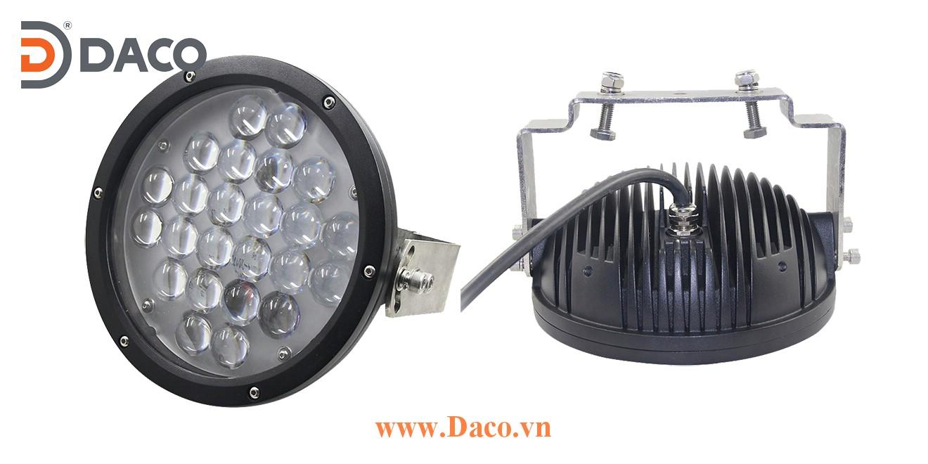 CRSZSLBL24L-120W-B Đèn báo vùng an toàn cho Cổng trục LED, Xanh Blue, Ánh sáng điểm/đường thẳng 1200lms, 10-60VDC, 120W, IP67