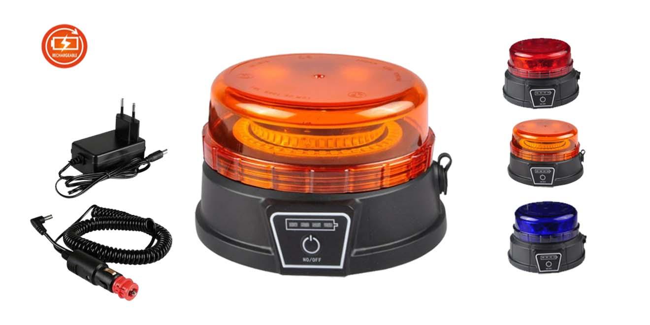KF-WB-400SWB Đèn báo xạc pin 88xΦ131 Nam châm hút dính, Pin xạc