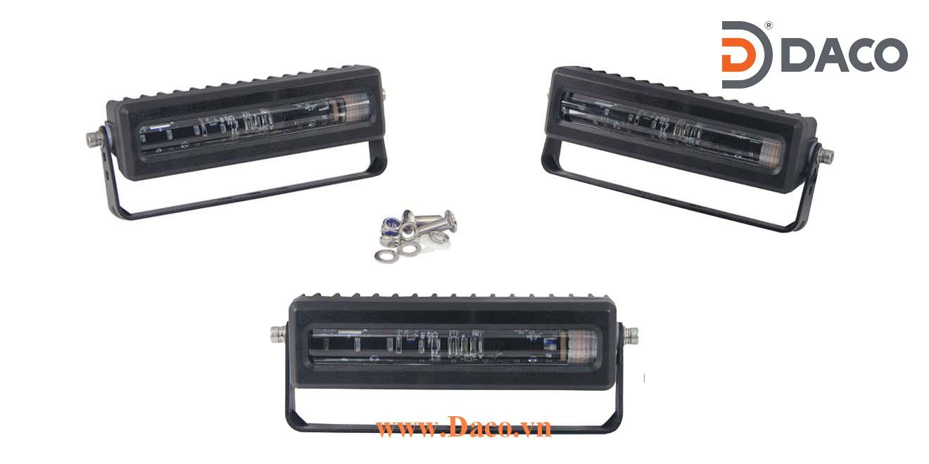 Đèn vạch vùng an toàn cho xe Forklift FLSZBL-TPB24W-R LED Osram, Đỏ, Ánh sáng đường thẳng, 10-110VDC, 24W, 152x60x57mm, IP67