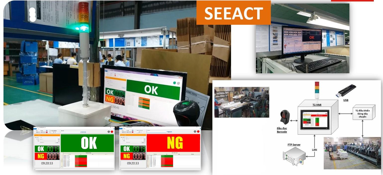 giai phap nha may thong minh - Hệ thống Quản lý Barcode Sản Phẩm - Trong Nhà Bao Bì Vỏ Hộp Công Nghiệp SEEACT-BARCODER: