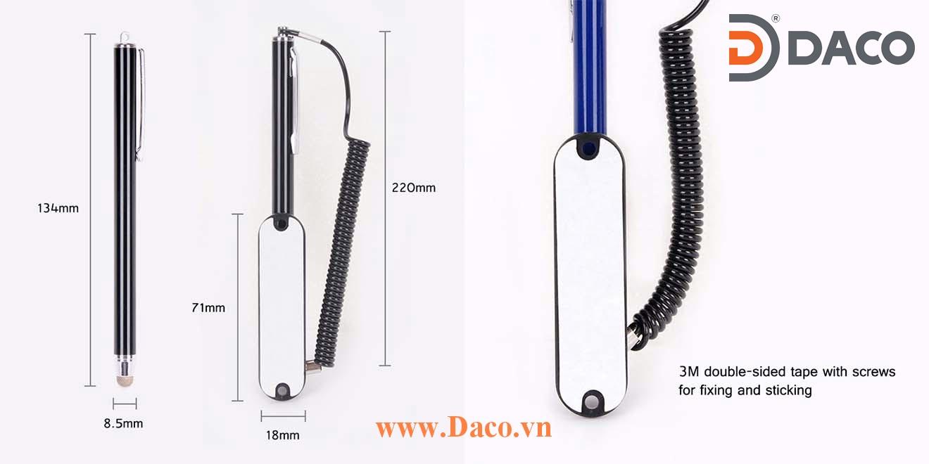 TP-YTC0415 Bút cảm ứng có móc treo trong sản xuất công nghiệp