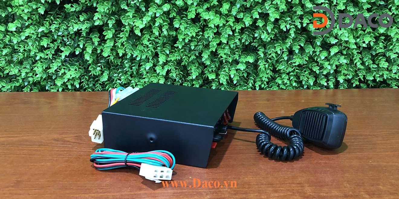 PA300-100W-FS Bộ Âm ly tạo tín hiệu còi hú xe ưu tiên PA300-100W-FS, 100W, 2 công tắc bật đèn