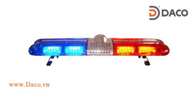 TBD-2000L-YY Đèn hộp dài xe ưu tiên LED, Vàng-Vàng, Sáng nhấp nháy, 12VDC, dài 120*30.5*21.5cm