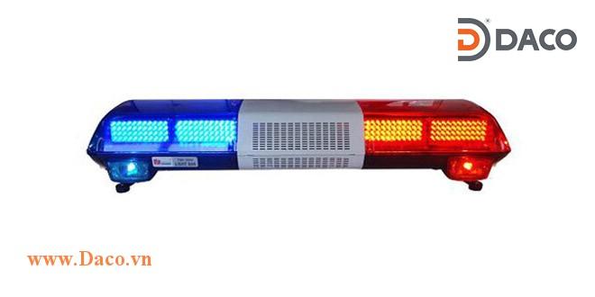 TBD-3000L-RR Đèn hộp dài xe ưu tiên LED, Đỏ-Đỏ, Sáng nhấp nháy, 12VDC, dài 120*30.5*23cm