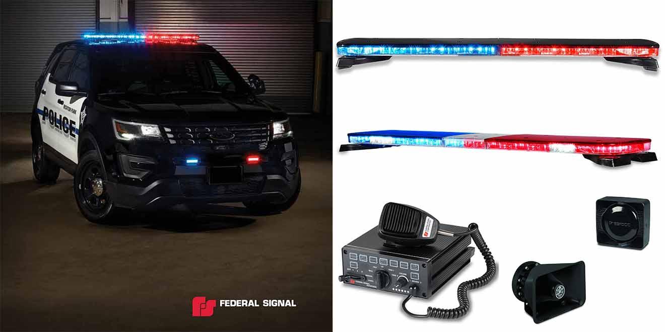 Tài liệu & Phần mềm Federal Signal USA-Mỹ: Đèn Loa Còi Xe Ưu Tiên