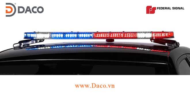INTG Đèn hộp LightBar Police Integrity 110-130 cm xe ưu tiên Federal Signal-USA Mỹ