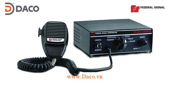 PA-300 Bộ tạo tín hiệu còi hú Siren Amplifier Federal Signal Công suất 100/200W, 12/24VDC