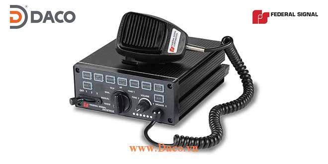 PF200 Bộ tạo tín hiệu còi hú Siren Amplifier & Điều khiển đèn Federal Signal Công suất 100/200W, 12/24 VDC