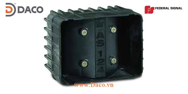 AS124 Loa dẹt chữ nhật ngang cho bộ tạo tín hiệu âm ly còi hú  Công suất 100W