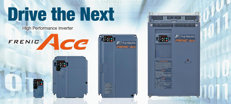 Biến tần Fuji Frenic ACE 0.1kW-2.2kW loại 1 Pha 220VAC Tích hợp bộ lọc EMC