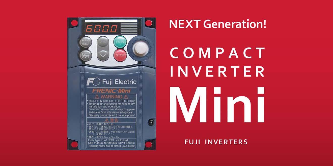 FRN0030C2E-4C Biến tần Fuji Frenic Mini tích hợp EMC 15kW 3 Pha 380VAC