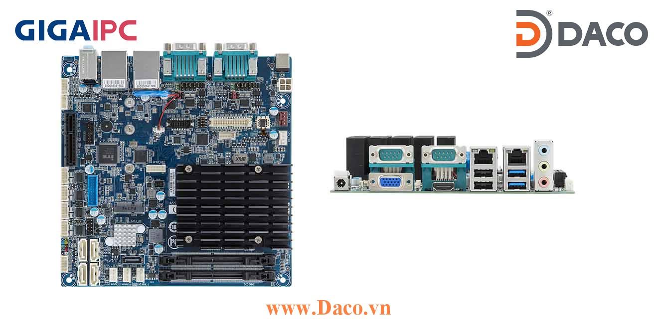 mITX-4105A Main máy tính công nghiệp  Intel® J4105 Processor, 2xDDR4 RAM, PCIe Slot, 2xGbE LAN, 6xCOM, 8xUSB, 5xSata 6Gb/s
