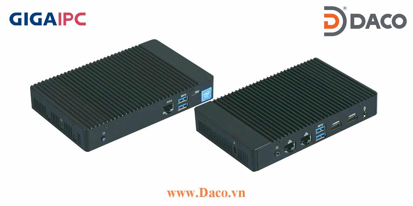 QBix-Plus-APLA3450-A1 Máy tính công nghiệp GigaIPC Intel® Celeron® N3450 Processor