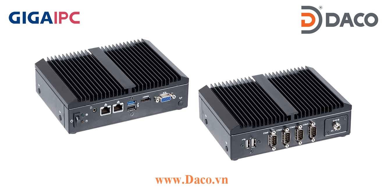 QBiX-Pro-BYTA1900H-A1 Máy tính công nghiệp GigaIPC Intel® Celeron® Processor J1900