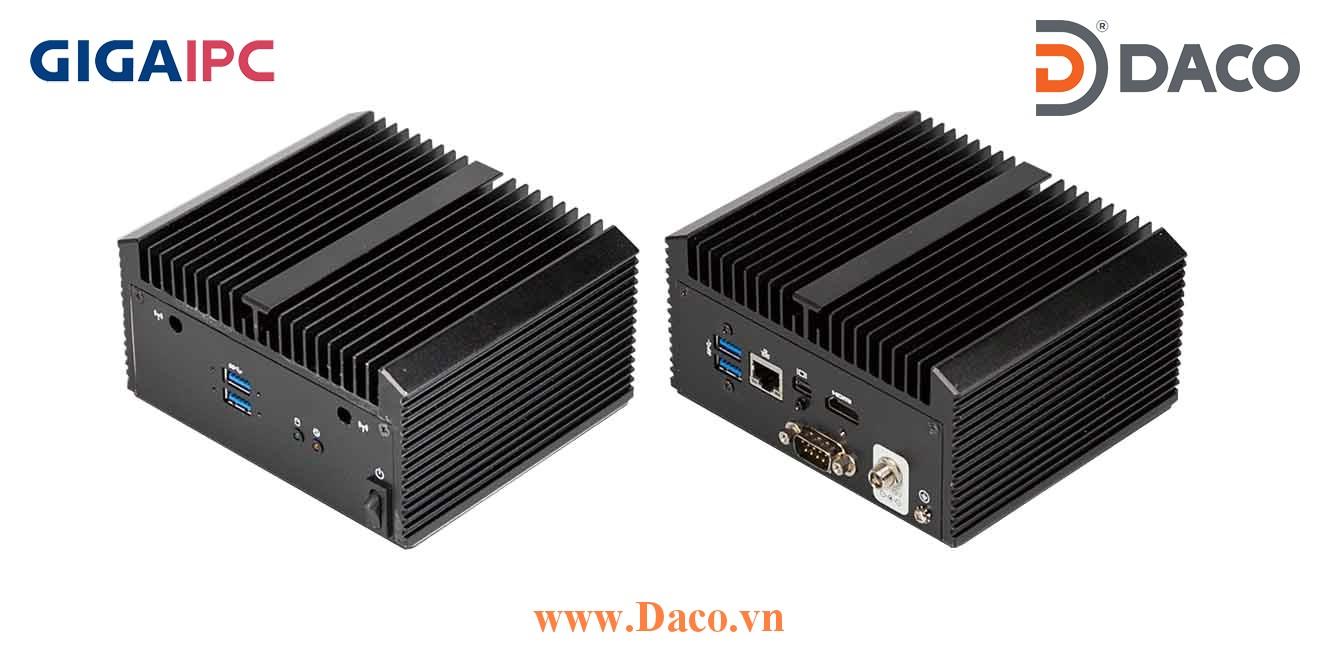 QBiX-KBLA7100H-A1 Máy tính công nghiệp GigaIPC Intel® Core™ i3-7100U Processor
